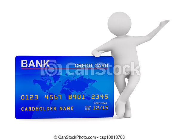 card., avbild, isolerat, kreditera, man, 3 - csp10013708