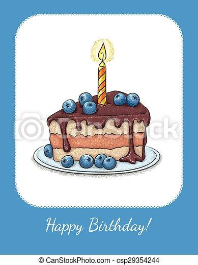 Card Birthday - csp29354244
