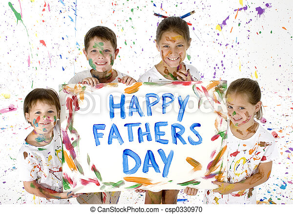 Card for Fathers Day - csp0330970