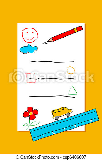 Card for Kid - csp6406607