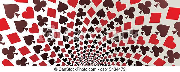 Card suit - csp15434473