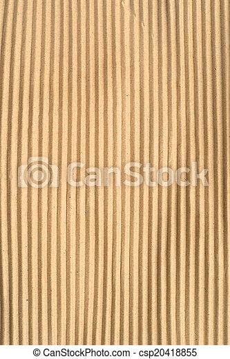 Cardboard background - csp20418855