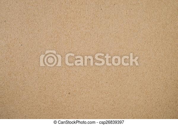 Cardboard background - csp26839397