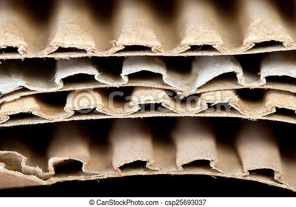 cardboard background - csp25693037