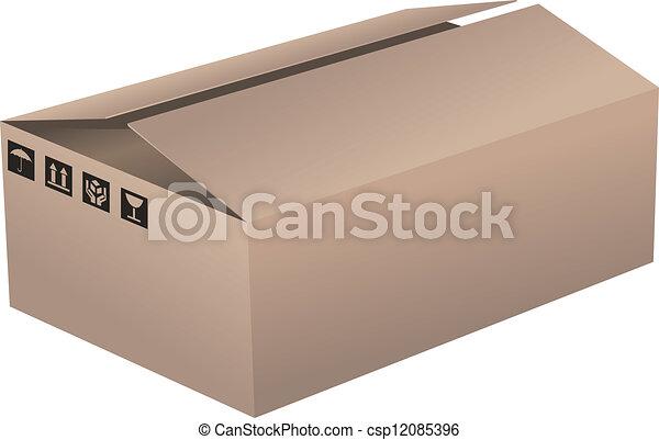 Cardboard Box - csp12085396