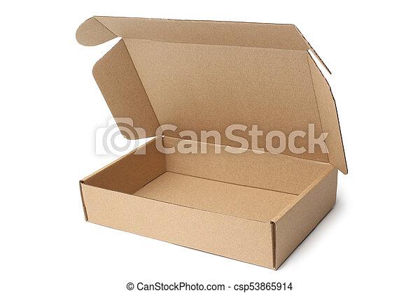 Cardboard box - csp53865914