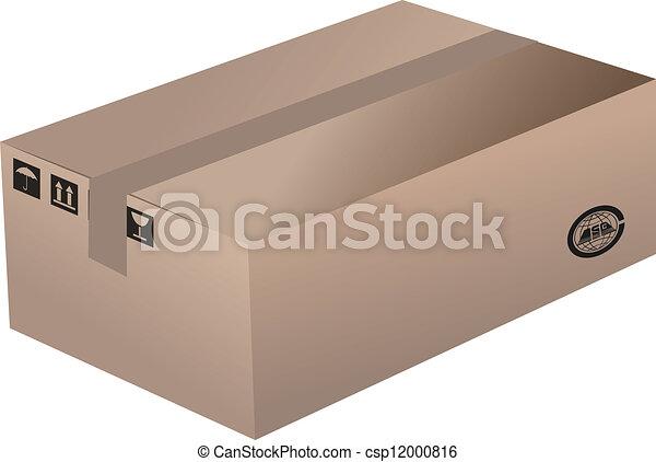 Cardboard Box - csp12000816