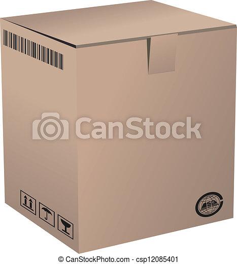 Cardboard Box - csp12085401
