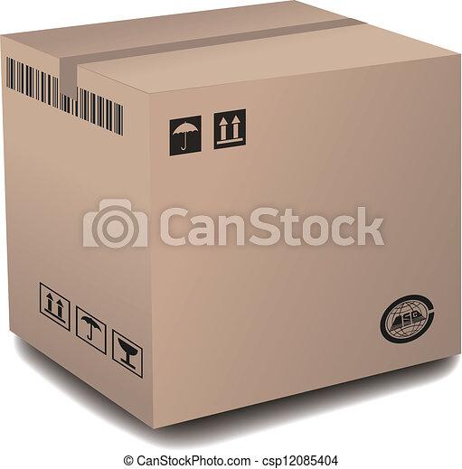 Cardboard Box - csp12085404