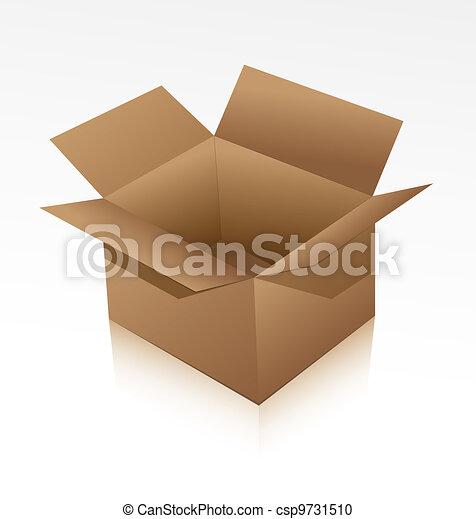 Cardboard box - csp9731510
