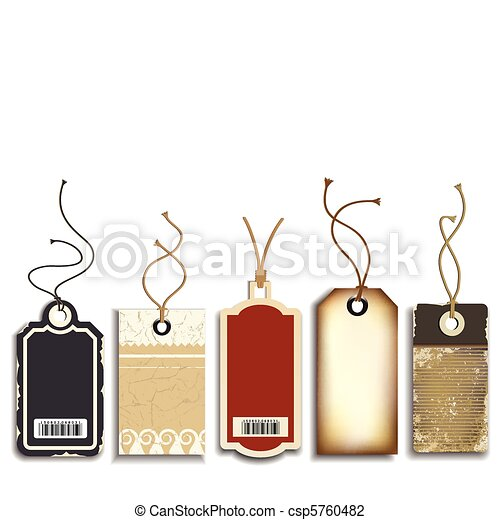 Cardboard Sales Tags - csp5760482