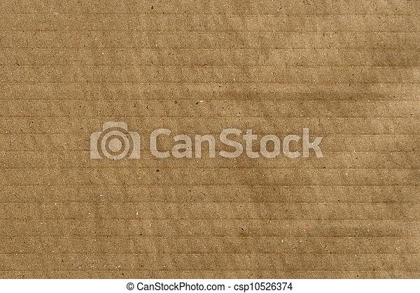 Cardboard Texture - csp10526374