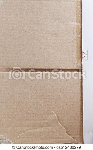 cardboard texture - csp12480279