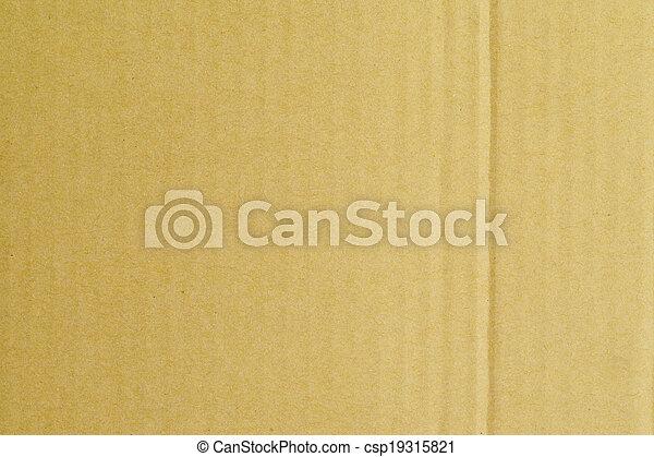 Cardboard Texture - csp19315821