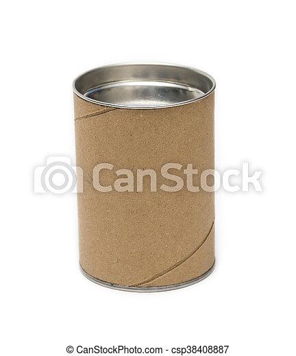 cardboard tube packaging - csp38408887