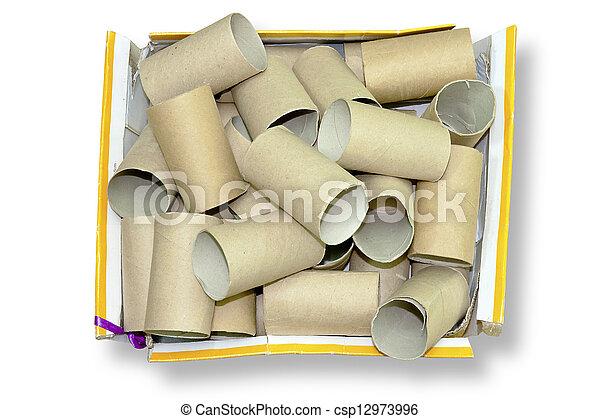 Cardboard tube - csp12973996