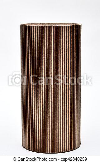 Cardboard tube - csp42840239