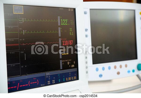 Cardiac Monitor - csp2014534