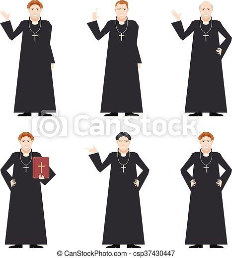 Cardinal - Catholic priest - csp37430447