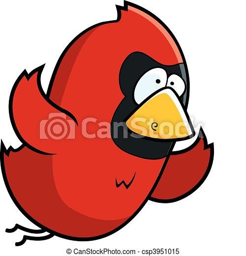 Cardinal Flying - csp3951015
