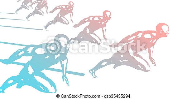 Cardio Workout - csp35435294