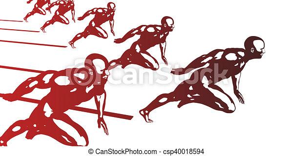 Cardio Workout - csp40018594