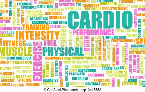 Cardio Workout - csp13415552