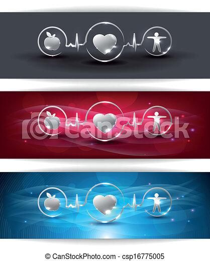 Cardiocascular health care concept - csp16775005