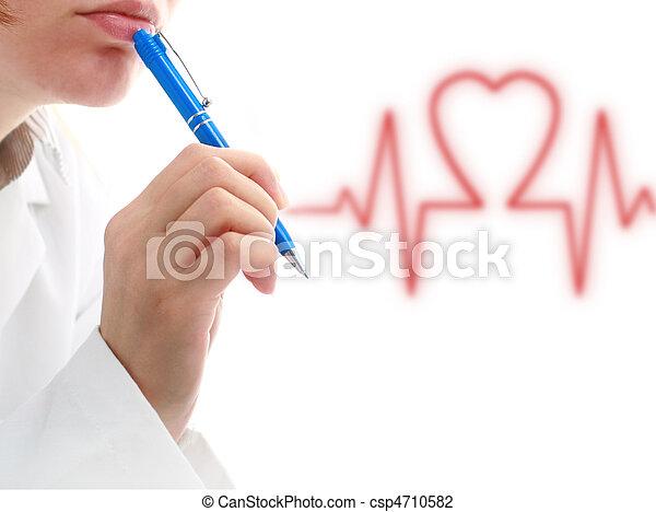 Cardiologist. - csp4710582