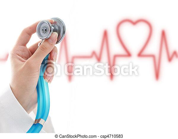 Cardiologist. - csp4710583