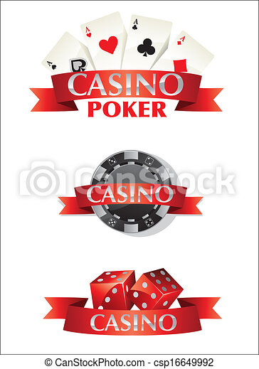 Cards Chips Dice Poker Casino - csp16649992
