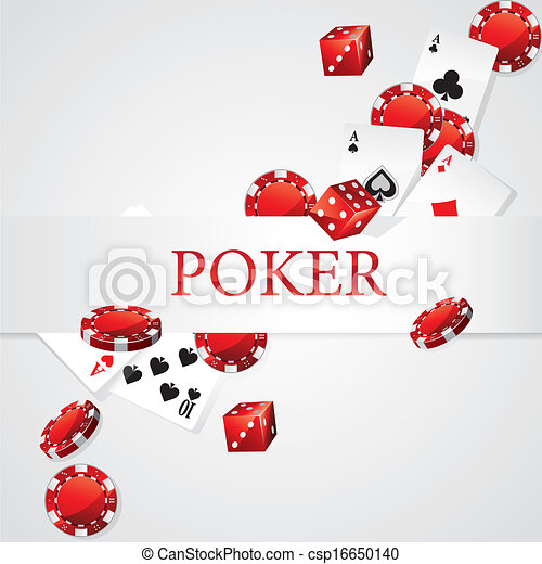 Cards Chips Dice Poker - csp16650140