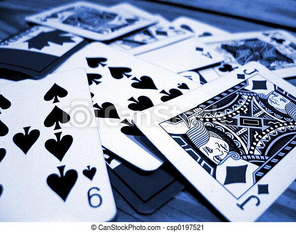 cards, spille - csp0197521