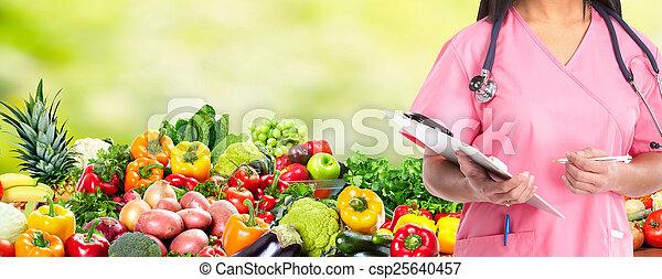 care., 健康, 飲食 - csp25640457