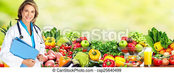 care., 健康, 飲食 - csp25640499