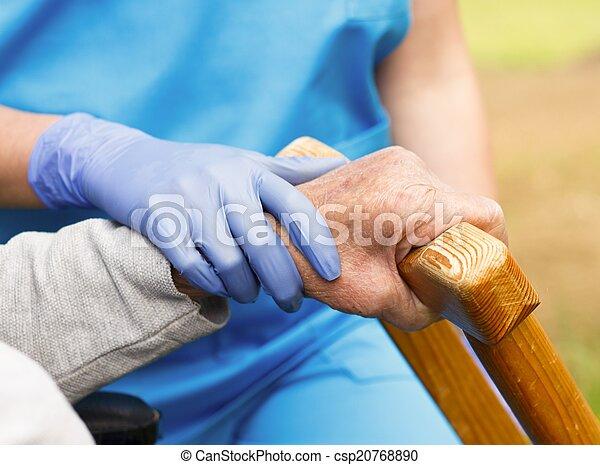 Care for Elderly - csp20768890