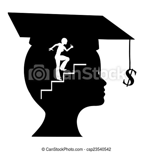 career after graduation young graduate with clear conception of her