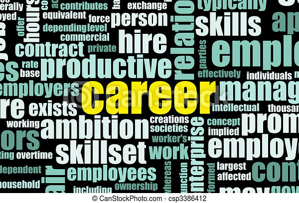 Career - csp3386412