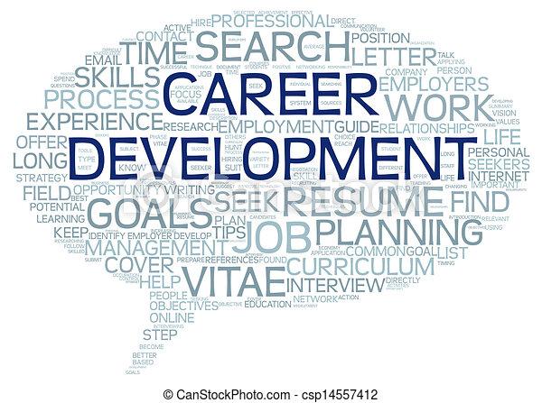 Career development in word tag cloud - csp14557412