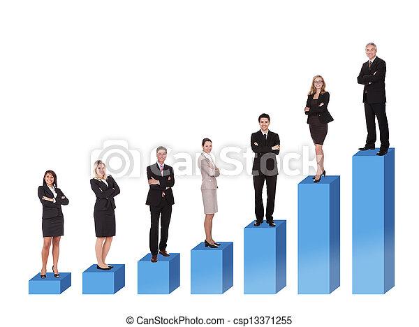 Career ladder - csp13371255