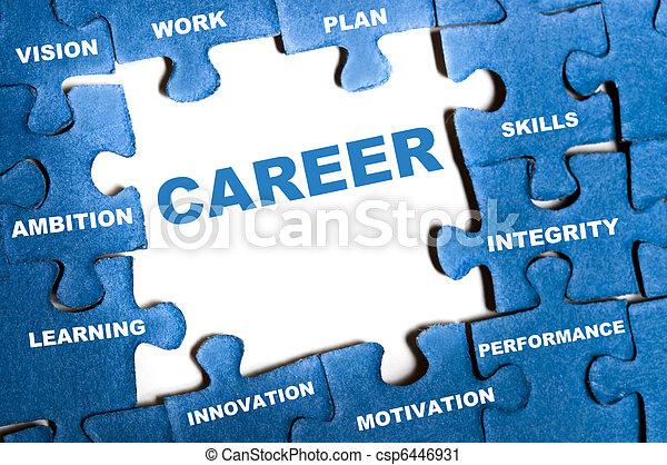 Career puzzle - csp6446931