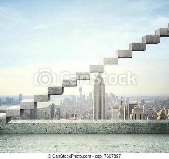 career stair - csp17607897