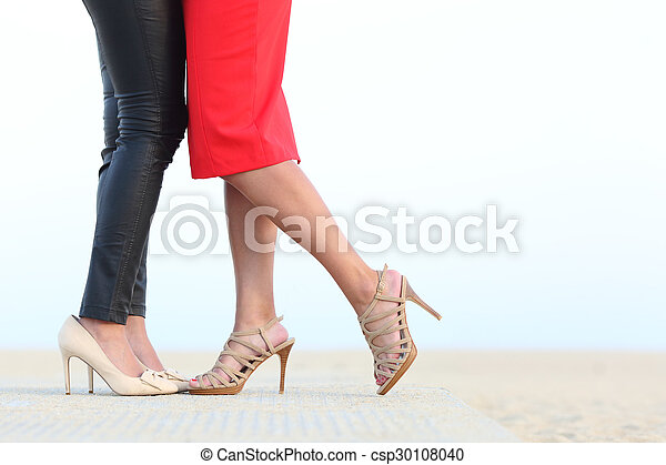 lesbienne jambe sexe