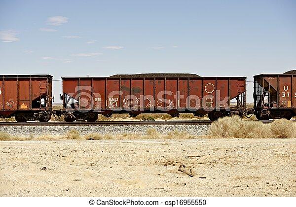 Autos ferroviarios de carga - csp16955550
