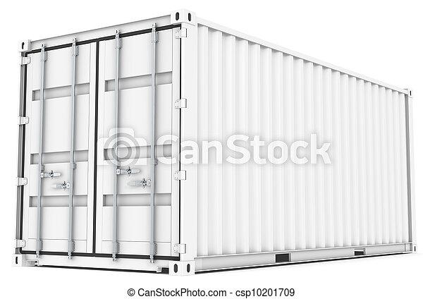 Un contenedor de carga. - csp10201709