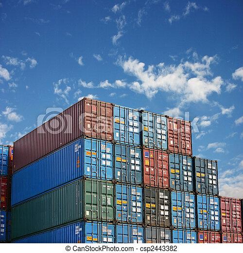 carga, contenedores - csp2443382