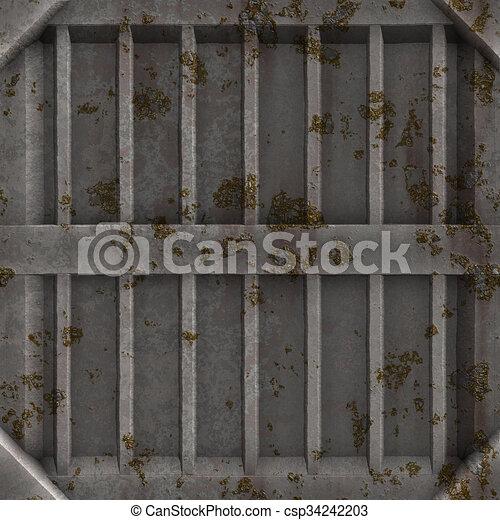 Sucio panel de carga #01 - csp34242203