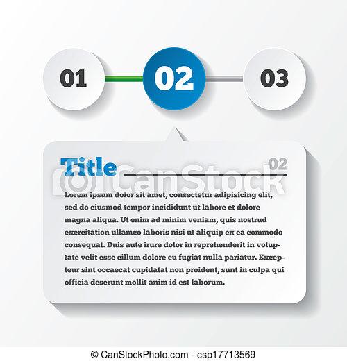 Tres pasos cargando papel. Diseño de datos - csp17713569