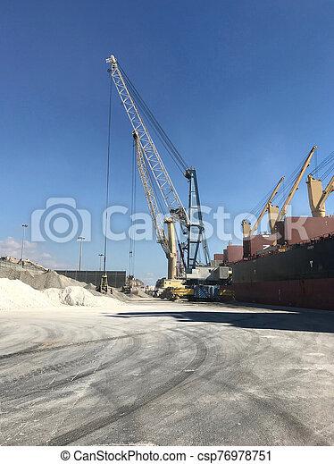 cargaison, chargement, bateau - csp76978751