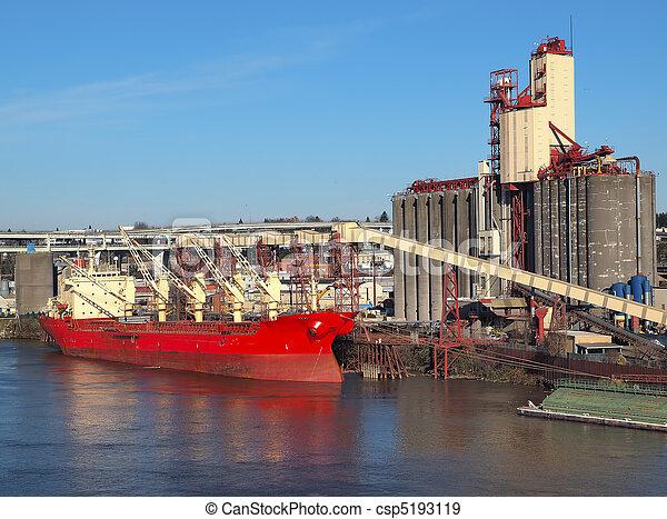 cargaison, chargement, ship. - csp5193119